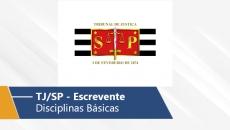 TJ/SP | Escrevente (Disciplinas Básicas)