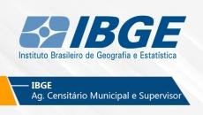 IBGE | Agente Censitário Municipal e Supervisor (On-line)