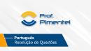 Português   Resolução de Questões - VUNESP