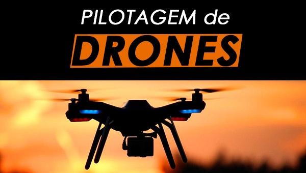Pilotagem de Drones