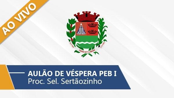 Aulão de véspera PEB I - Sertãozinho (Ao Vivo)