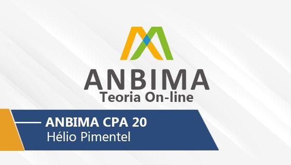 Anbima | CPA 20 (On-line)