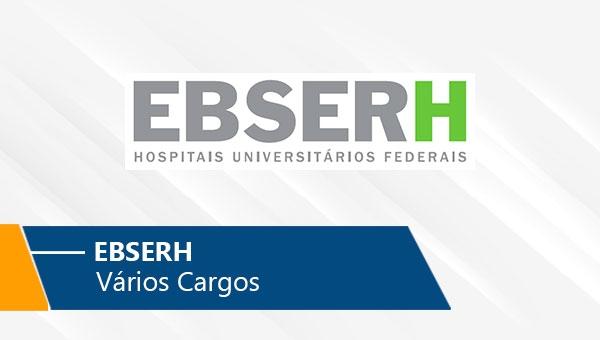 EBSERH | Vários Cargos (On-line)