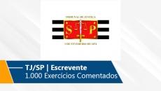 TJ/SP | 1.000 Exercícios Comentados (On-line)