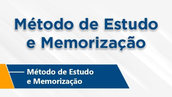 Método de Estudo de Memorização (On-line)