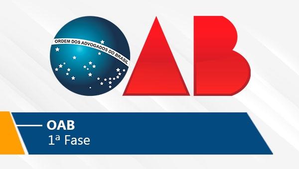 OAB | 1ª Fase (On-line)
