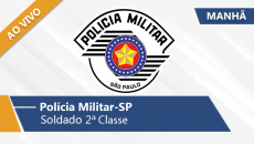 Polícia Militar - Soldado (Manhã/Ao Vivo)