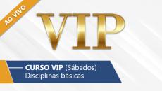 Curso VIP - Sábados (Ao Vivo)