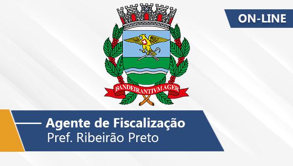 Pref. Ribeirão Preto   Agente de Fiscalização (On-line)